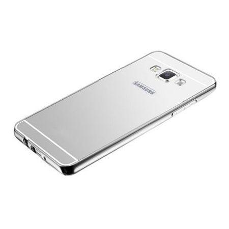 Mirror bumper case na Galaxy A5 - Srebrny