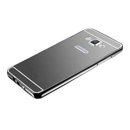 Mirror bumper case na Galaxy A5 - Czarny