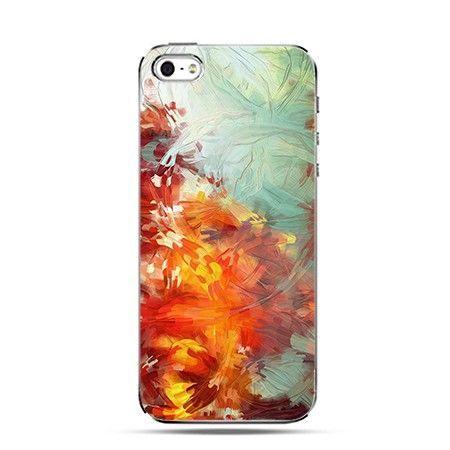 Etui iPhone 5 , 5s pastelowy obraz