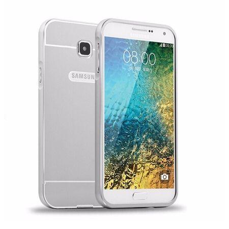 Bumper case na Galaxy A5 2016r - Srebrny