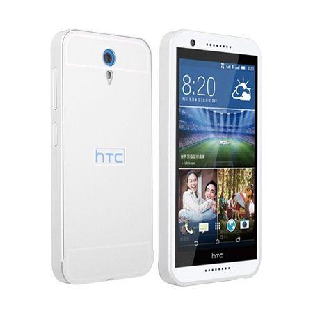 Bumper case na HTC Desire 620 - Srebrny