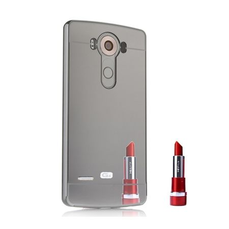Mirror bumper case na LG G3 - Czarny