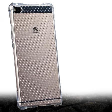 Huawei P8 Lite silikonowe etui przezroczyste crystal case Air-Shock Corner.