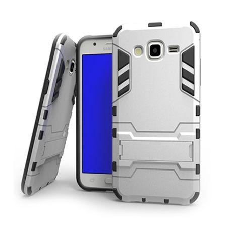 Pancerne etui na Samsung Galaxy A3 - Srebrny