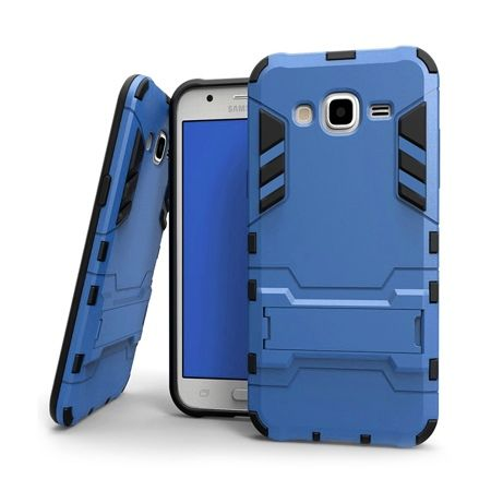 Pancerne etui na Samsung Galaxy A3 - Niebieski