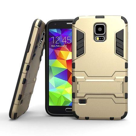 Pancerne etui na Samsung Galaxy S5 - Złoty