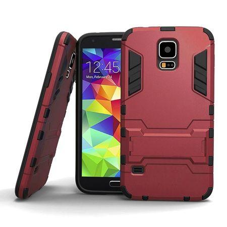 Pancerne etui na Samsung Galaxy S5 / S5 Neo - Czerwony