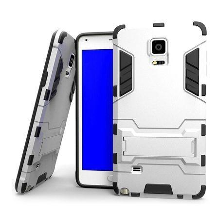 Pancerne etui na Samsung Galaxy Note 4 - Srebrny