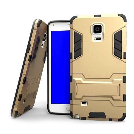Pancerne etui na Samsung Galaxy Note 4 - Złoty