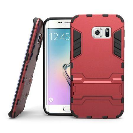 Pancerne etui na Samsung Galaxy S6 Edge Plus - Czerwony