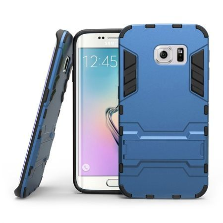 Pancerne etui na Samsung Galaxy S6 Edge Plus - Niebieski