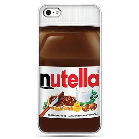 Etui na telefon Nutella czekolada słoik.