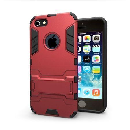 Pancerne etui na iPhone 5 - Czerwony