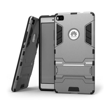 Pancerne etui na Huawei P8 Lite - Szary