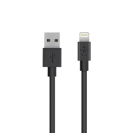 Belkin lightning kabel do iPhone 5 6 , iPad - 1.2 m czarny.