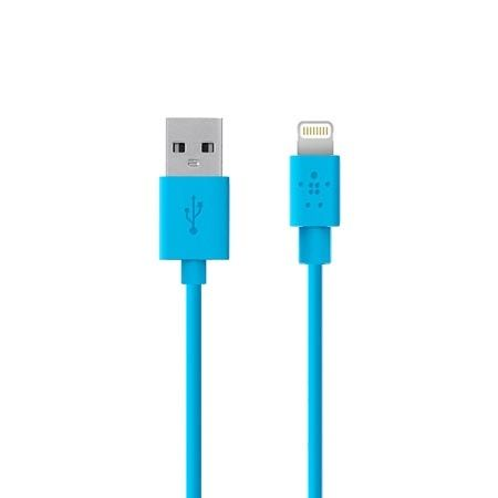 Belkin lightning kabel do iPhone 5 / 6 , iPad - 1.2 m niebieski.