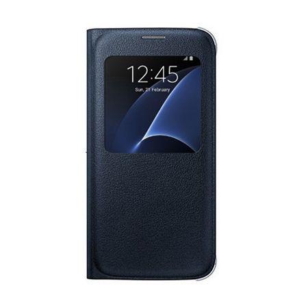Etui na Samsung Galaxy S6 Edge Plus - flip S-View z klapką - Czarny