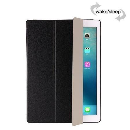 Etui na iPad 3 Silk Smart Cover z klapką - czarne.