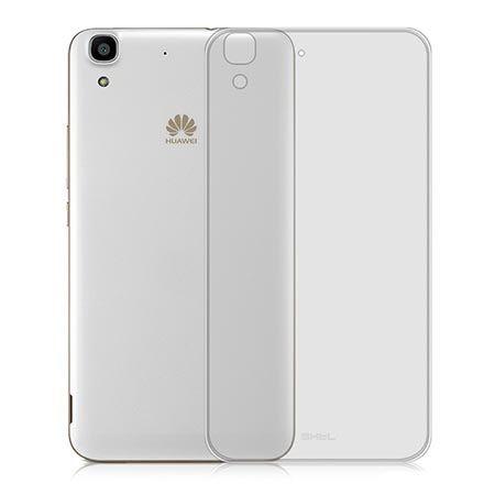 Huawei Y6 silikonowe etui crystal case przezroczyste.