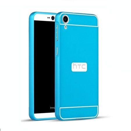 HTC Desire 820 etui aluminium bumper case niebieski. PROMOCJA !!!
