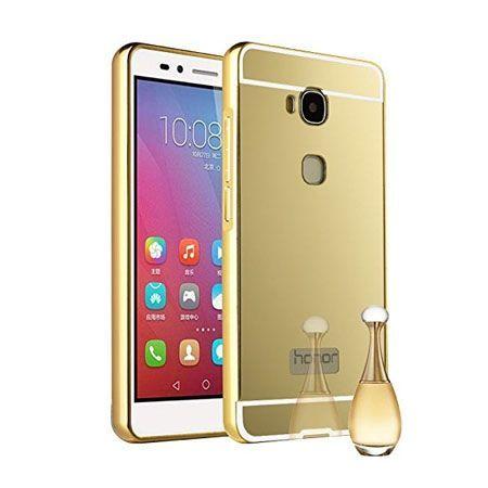 Huawei Honor 5X mirror bumper case - Złoty