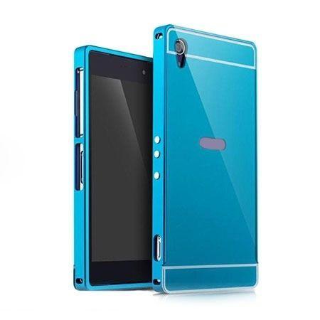 Bumper case na Xperia M4 Aqua - Niebieski
