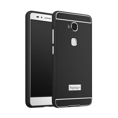 Bumper case na Huawei Honor 5X - Czarny