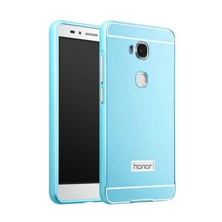 Bumper case na Huawei Honor 5X - Niebieski