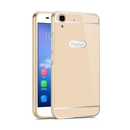 Bumper case na Huawei Y6 - Złoty