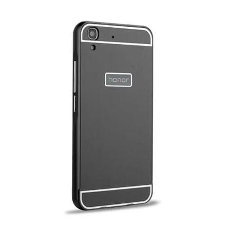 Bumper case na Huawei Y6 - Czarny