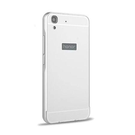 Bumper case na Huawei Y6 - Srebrny