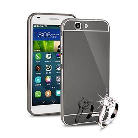Mirror bumper case na Huawei G7- Czarny