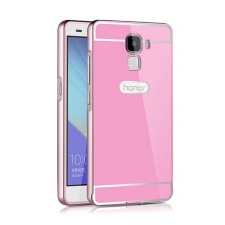 Bumper case na Huawei Honor 7 - Różowy