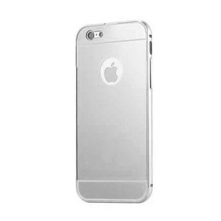 Bumper case na iPhon 5 - Srebrny
