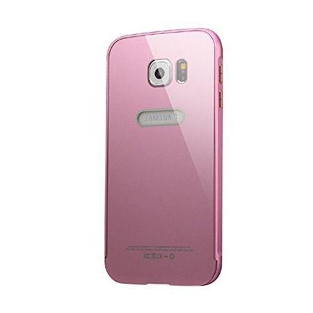 Bumper case na Galaxy S6 Edge - Różowy