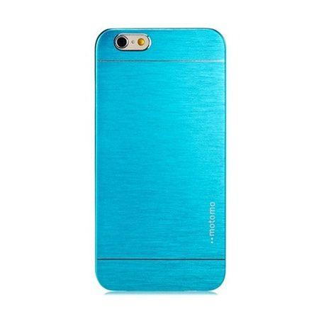 iPhone 4 4s etui Motomo aluminiowe niebieski.