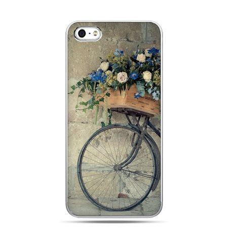iPhone 6 etui na telefon rower z kwiatami