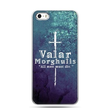 iPhone 5 , 5s etui na telefon Valar morghulis