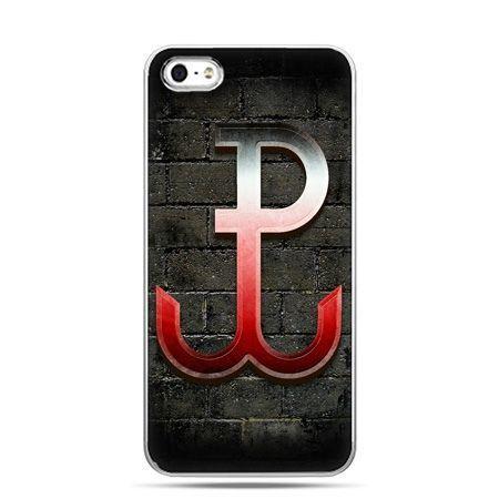 Etui na telefon iPhone 5 / 5s patriotyczne - Polska Walcząca
