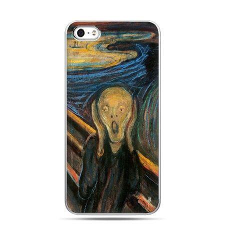 iPhone 5 , 5s etui na telefon Krzyk Munka