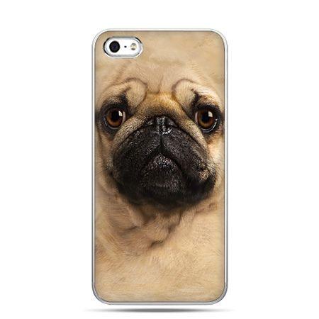 iPhone 5 , 5s etui na telefon pies szczeniak Face 3d