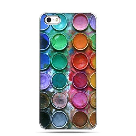 iPhone 5c etui kolorowe farbki