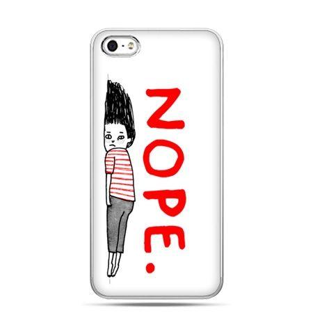 iPhone 5c etui Nope