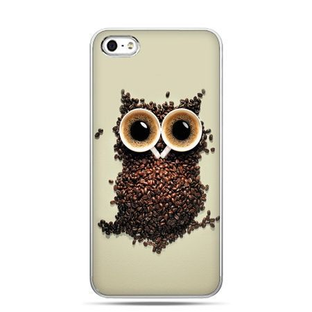 iPhone 5c etui Kawa sowa