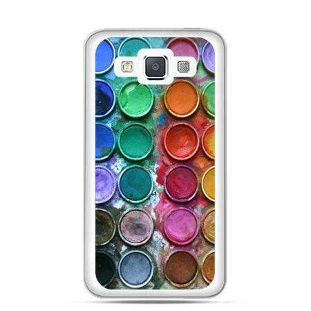 Etui na Galaxy A5 kolorowe farbki
