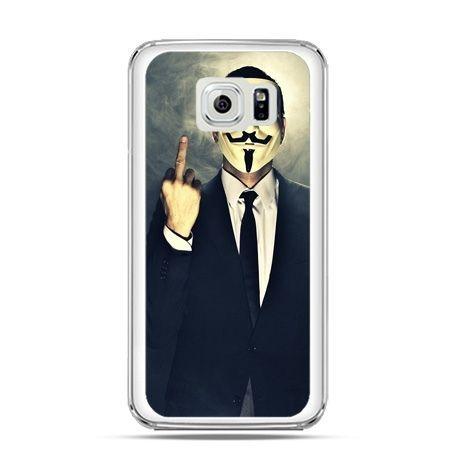 Etui na Galaxy S6 Edge Anonimus Fuck You