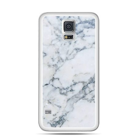 Etui na Galaxy S5 biały marmur