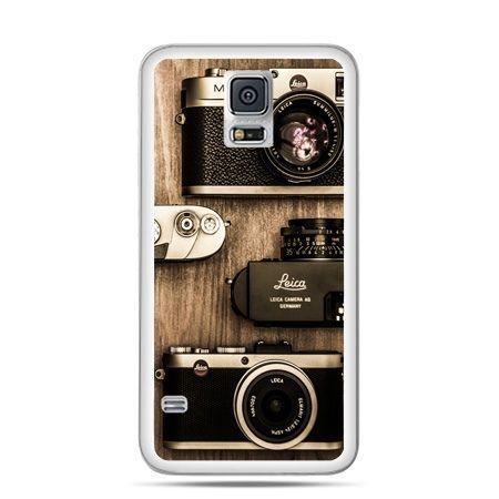Etui na Galaxy S5 aparaty retro