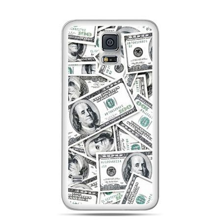 Etui na Galaxy S5 dolary banknoty