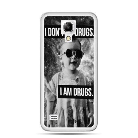 Galaxy S4 etui I don`t do drugs I am drugs